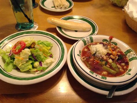 Unlimited Soup And Salad Olive Garden Dinner by On Food Syracuse And Wiaw