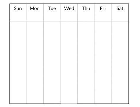 blank daily schedule sheet blank weekly schedule best quality loving printable
