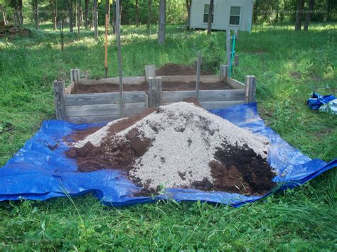 soil mixture for raised vegetable garden raised garden beds gentleman farmer