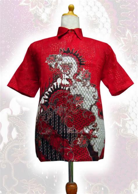 Hem Batik Pria Kode 099 dress batik terbaru motif indah 2014 koleksi batik