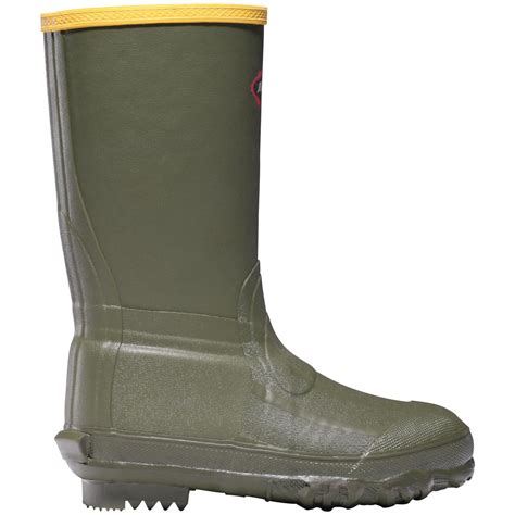la crosse boots youth lacrosse 174 lil burly 174 boots green 581867