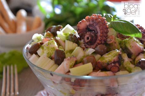 insalata di polpo con sedano insalata di polpo con sedano e olive di taggia