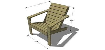 Free Woodworking Plans Garden Chairs by Free Diy Furniture Plans How To Build An Outdoor Modern Adirondack Chair The Design