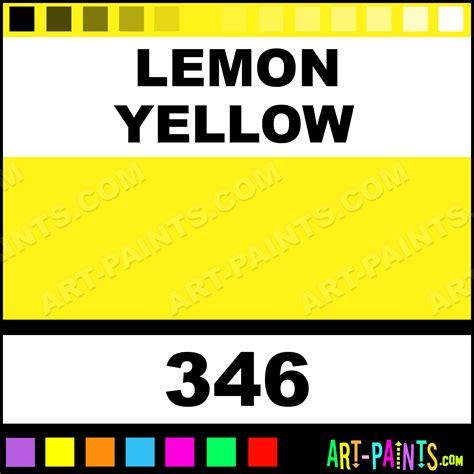 Acrylic Vs Latex Exterior Paint - lemon yellow galeria acrylic paints 346 lemon yellow paint lemon yellow color winsor and