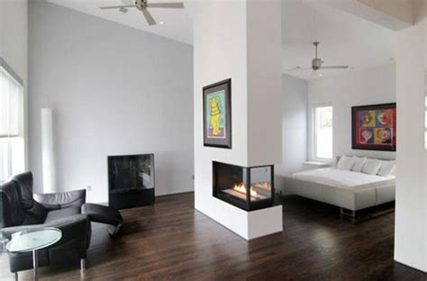 modern design idea for two sided corner fireplace living 25 two sided modern fireplaces working as beautiful room