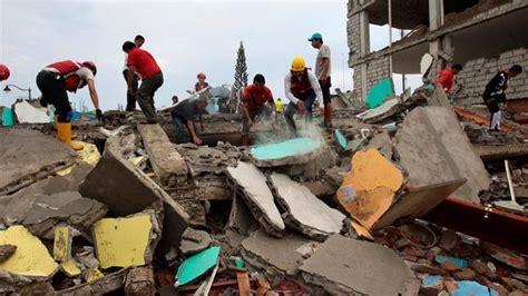 imagenes impactantes terremoto ecuador terremoto en ecuador noticias telesur