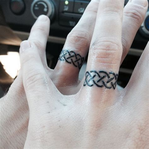150 best wedding ring tattoos designs april 2018