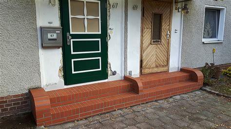treppe hauseingang bilder maurer putzer neubau umbau ausbau sanierung berlin mauern