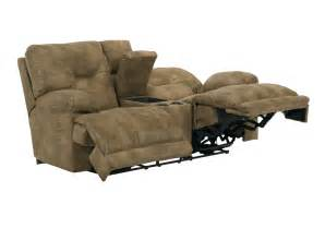 voyager lay flat reclining sofa set