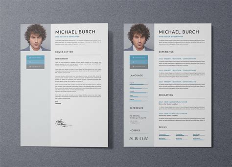 Resume Template Ai by Free Professional Resume Template In Doc Psd Ai Format