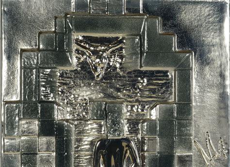 salvador dali lincoln in dalivision lot 170 dali lincoln in dalivision silver bas relief
