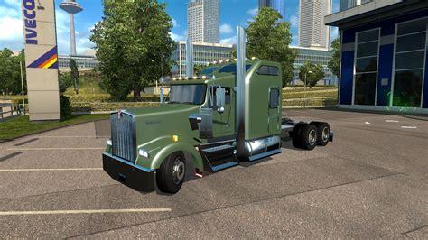w900l kenworth w900l v1 5 truck euro truck simulator 2 mods