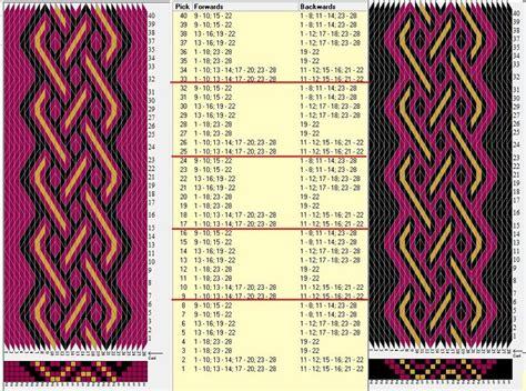 pattern inkle loom 239 best images about inkle loom patterns on pinterest