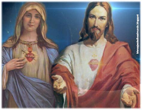 imagenes de jesus y la virgen maria juntos mensajes de dios al mundo consagraci 211 n al inmaculado