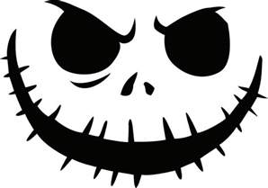 Free Pumpkin Templates by Free Printable Skellington Pumpkin Carving Stencil