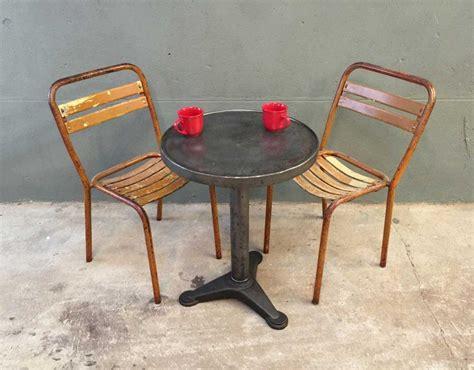 chaise tolix ancienne paire chaises bistrot m 233 tal style tolix