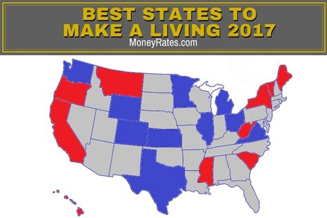 lowest cost of living states best states to make a living from moneyrates com