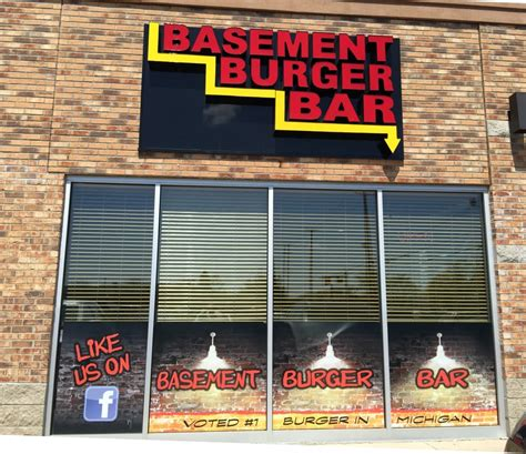 Basement Burger Bar It S Only Breakfast Time But I Want Another Bison Burger