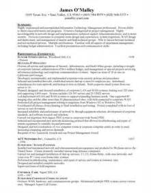 information security resume objective