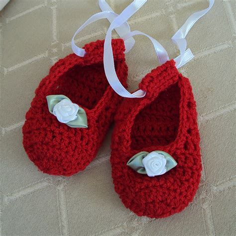 crochet baby ballerina slippers pattern princess shoes baby booties free crochet pattern ballerina