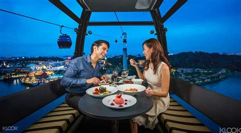 book dining package  faber peak singapore  cable car