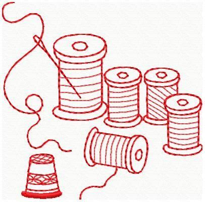 embroidery muster embroidery machine pattern redwork sewing machine