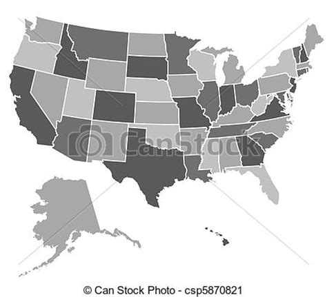 map of united states vector united states map map of the united states of america
