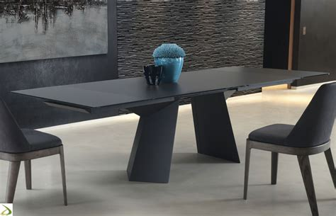 tavoli soggiorno allungabili design tavolo design fiandre di bontempi arredo design