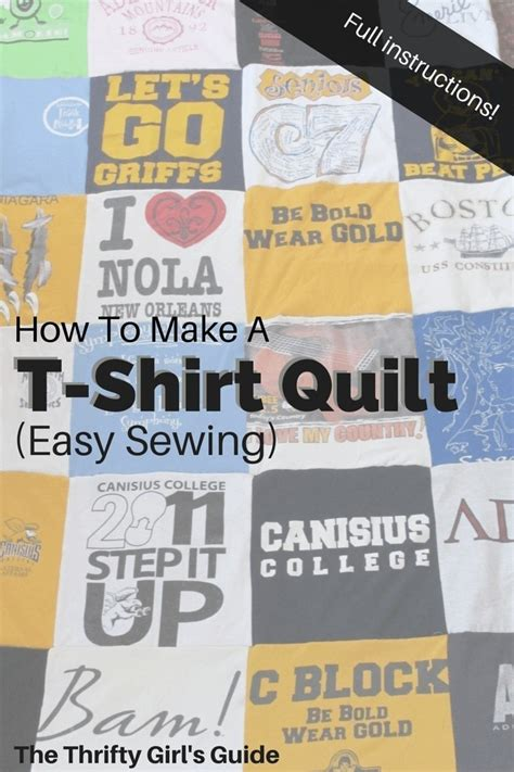 How To Sew A Quilt by How To Make A T Shirt Quilt 183 How To Recycle A T Shirt