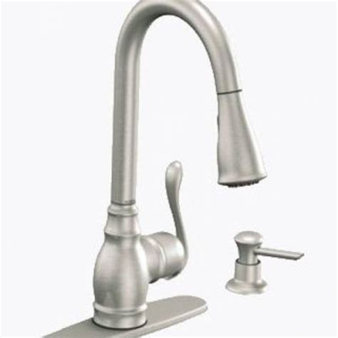 moen anabelle kitchen faucet home design ideas and pictures moen anabelle one handle high arc pull down kitchen faucet