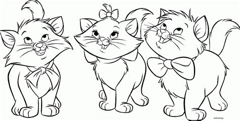 cat color pages printable cat coloring pages for adults