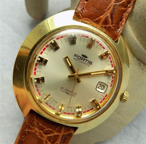 Fortis Automatic 21 Jewels fortis 6276 automatic with date and 21 jewels s