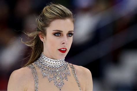 ashley wagner helps u s advance in team skating event ashley wagner feels bittersweet about watching the