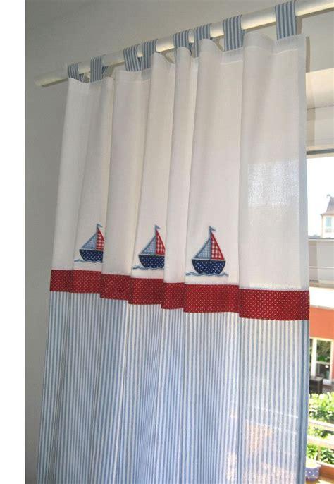 vorhang maritim die besten 17 ideen zu kinderzimmer gardinen auf