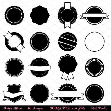 clipart vectors badge vectors and clipart illustrations creative market