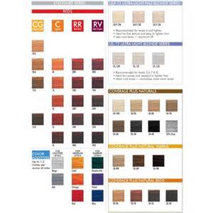 ion color brilliance chart ion color brilliance color chart brown hairs