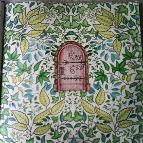 secret garden colouring book hk 26 best images about johanna basford doors gates