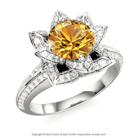 november birthstone jewelry citrine lotus ring november birthstone was never a fan of