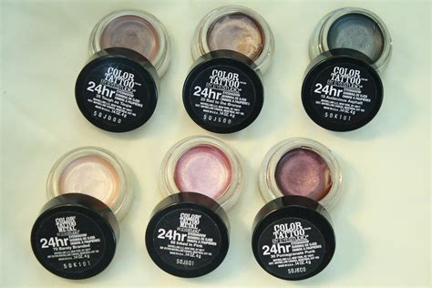 tattoo eyeshadow holy grail maybelline color 24 hour
