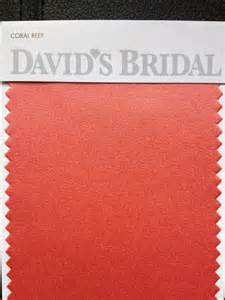 david s bridal color swatches coral reef color swatch david s bridal glam squad