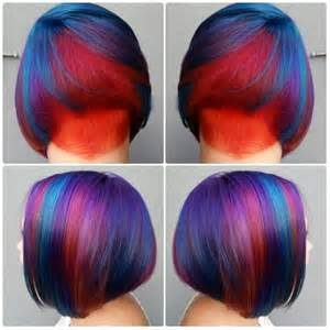 pravana hair colors pravana locked in hair color on undercut bob
