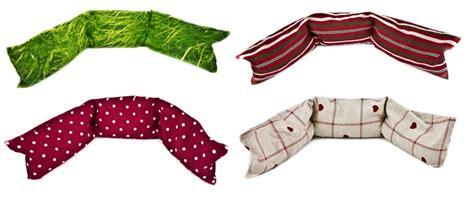 cuscini lunghi cuscino con noccioli di ciliegia lungo