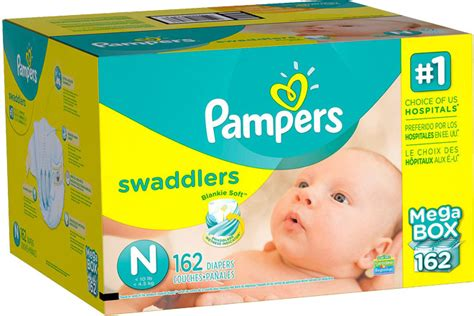 pampers mega box diapers  count baby wipes  shipping