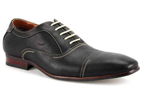 mens ferro aldo dress casual shoes lace up oxfords cap toe