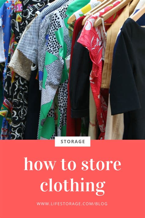 How Do You Store Seasonal Clothes by How To Store Clothes For Future Use