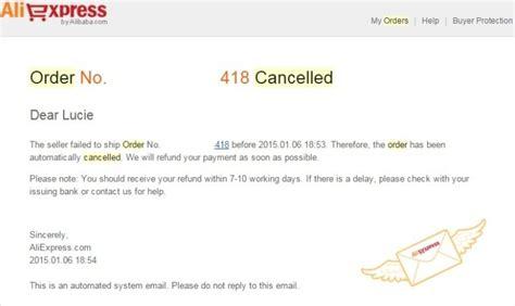 aliexpress order status closed 18 zrušen 225 objedn 225 vka predajcom a postup vr 225 tenia penaz 237