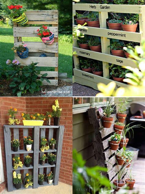 decorar paredes de jardines ideas para la decoraci 243 n de jardines con palets