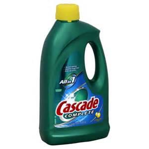 Cascade Dishwasher Cleaner Cascade Dishwasher Detergent Lemon Burst Scent