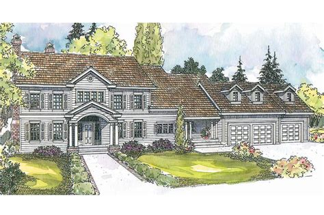 Colonial House Plan by 21 Amazing Colonial Home Plans House Plans 68038