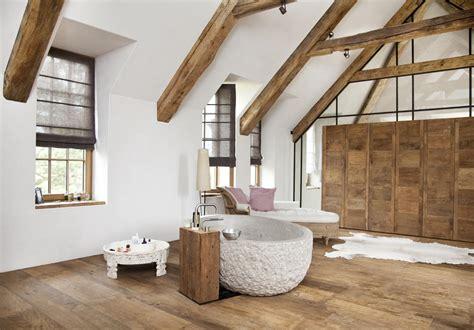 bauernhaus badezimmerideen cooles bad in mineralputz roomido